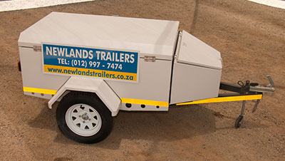 luggage trailer for holiday